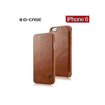 G-case case Folio Marron Series For iPhone 6 / 6s