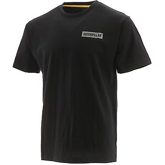 Caterpillar Mens Icon Block Graphic Short Sleeve T Shirt