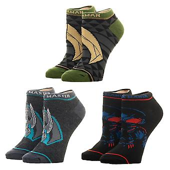 Ankle Sock - DC Comics - Aquaman 3 pack New xs7ar4aqm