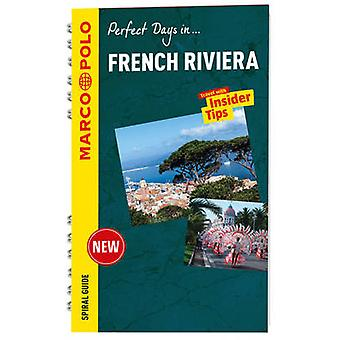 French Riviera Marco Polo Travel Guide  with pull out map