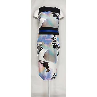 G.I.L.I. got it love it Dress Printed Sheath Multi Black A273627