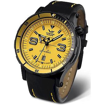 Vostok Europe Anchar Automatic NH35A-510C530 Leather Strap