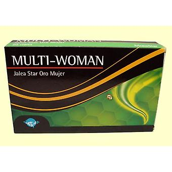 Mont Star Multi Gold Star Woman Jelly 20 Vials
