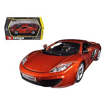 Mclaren Mp4-12C Naranja Metálica 1/24 Diecast Modelo de coche por Bburago