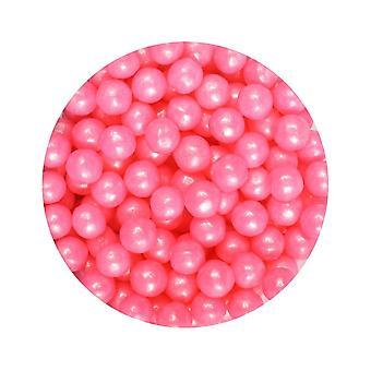 Cupcakes roxos - Pérolas Cor-de-Rosa - 1kg