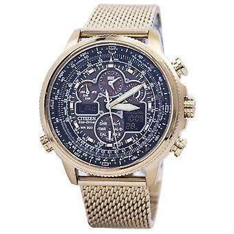 Citizen Navihawk A-t Eco-aandrijving chronograaf Jy8033-51e mannen ' s horloge