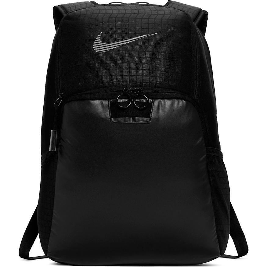 Nike Brasilia Backpack | Black/Black/Reflective