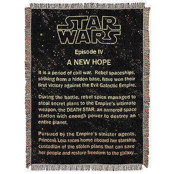 Star Wars før Hope billedvev Throw