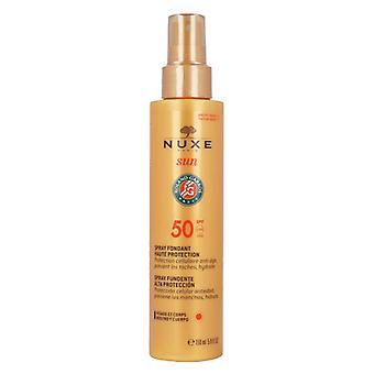 Nuxe Sun Melting spray pour le visage et le corps FPS 50