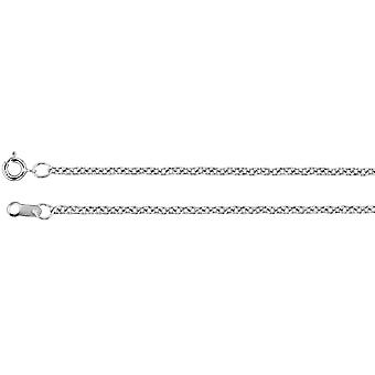 925 Sterling Silver 1.5mm Necklace Cable Chain With Spring Ring Jewelry Gifts for Women - Length: 16 to 30