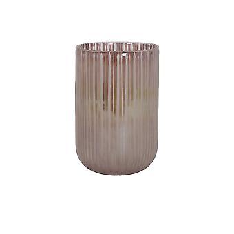 Light & Living Vase 20x30cm Tollegno Glass Pink