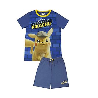 Pokemon Detective Pikachu Boy's Short Pyjamas
