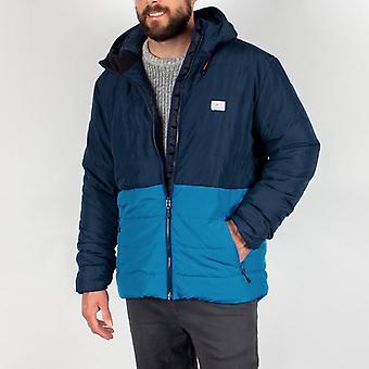 Passenger patrol insulated jacket - navy/deep water blue
