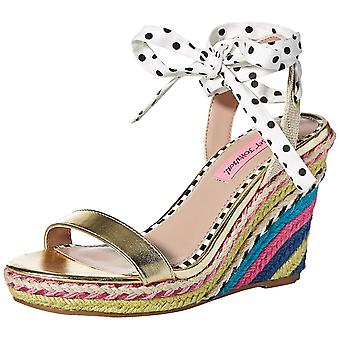 Betsey Johnson Womens Colvin Open Toe Casual Espadrille Sandals