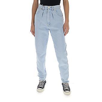 Alberta Ferretti 03131679a0045 Women's Beige Cotton Jeans