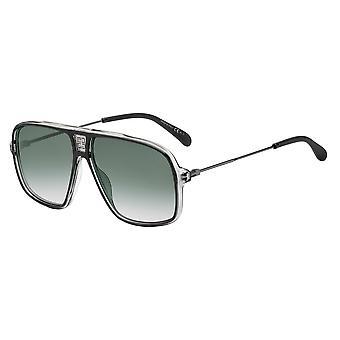 Givenchy GV7138/S O6W/9O Black-Ruthenium/Dark Grey Sunglasses