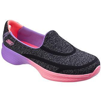 スケッチャーズ子供女の子靴 4 素晴らしい Ombres スリップを散歩に行く