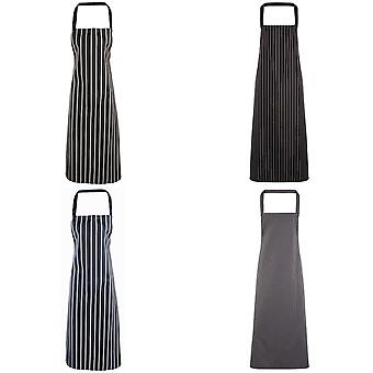 Premier Ladies/Womens Stripe Apron / Workwear (Butchers Style)