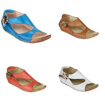 Riva Cartier leder / Womens sandalen