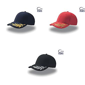 Atlantis Winner Laurel Embroidered Cap (Pack of 2)