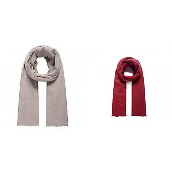 Intrigue Womens/Ladies Self Fringing long scarf