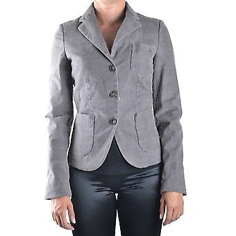 Refrigiwear Ezbc393005 Women's Grey Cotton Blazer