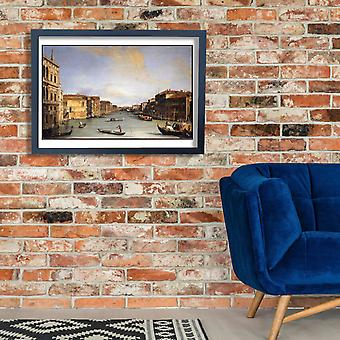 Canaletto - Veduta del Canal Grande Poster Print Giclee