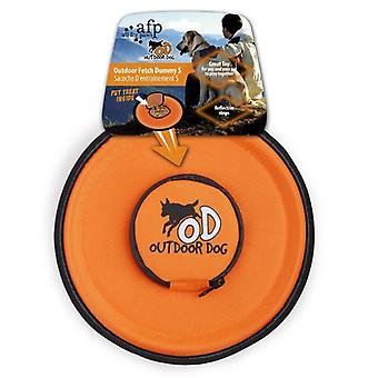All For Paws Interactive Outdoor Fetch Frisbee Dummy