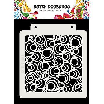 הולנדית Doobadoo ההולנדי מסכה אמנות דודל Circle163x148mm 470.715.141