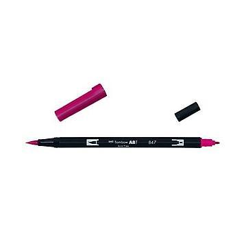 Tombow ABT Dual Brush Pen crimson ABT-847