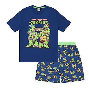 Teenage Mutant Ninja Turtles Official Gift Boys Kids Loungewear Short Pyjamas