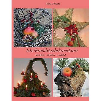Weihnachtsdeko natrlich lndlich rustikalAdventsfloristik mit Holz Heu pfeln und Wolle tekijä Schulze & Ulrike