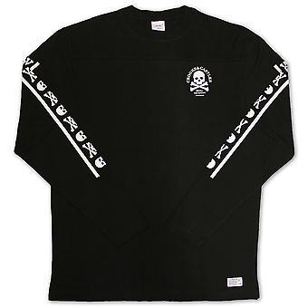 Crooks & Castles Skull Squadron Long Sleeve T-shirt Black