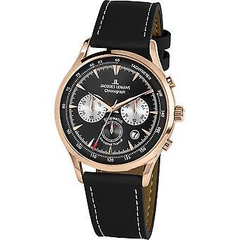 Jacques Lemans - Wristwatch - Men - Retro Classic - - 1-2068E