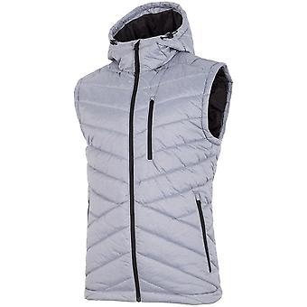 4F H4Z19 KUMP001A Chłodny Jasny Szary Melanż H4Z19KUMP001ACHODNYJASNYSZARYMELAN universal all year men jackets