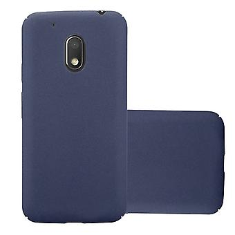 Cadorabo Hülle für Motorola MOTO G4 PLAY hülle case cover - Hardcase Handyhülle aus Plastik gegen Kratzer und Stöße – Schutzhülle Bumper Ultra Slim Back Case Hard Cover