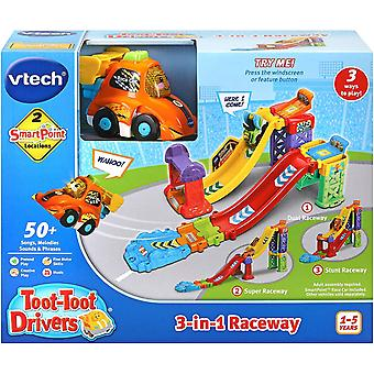 VTech Toot-Toot Drivers 3 en 1 Raceway