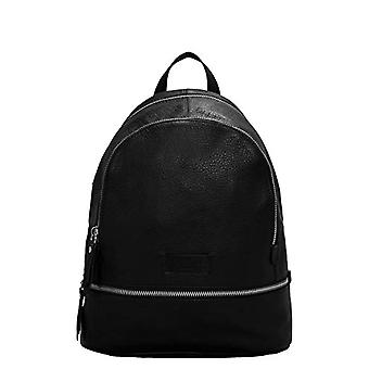 Liebeskind Berlin Essential Fight Backpack Small - Women's Backpack Bags - Black (Black) - 11x32x26cm (B x H T)