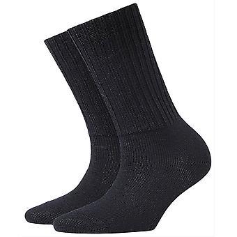 Burlington Plymouth Socks-Dark Navy