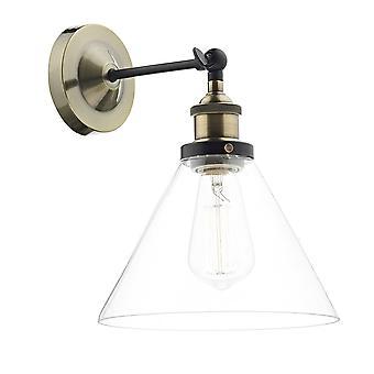 Dar belysning Ray væglampe i antik messing