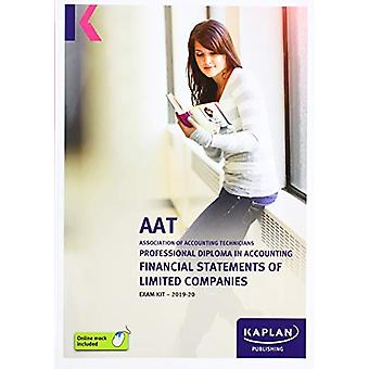 FINANCIAL STATEMENTS OF LIMITED COMPANIES - EXAM KIT by KAPLAN PUBLIS