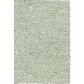 Mehari Modern Plain melled Teppiche 23252 In Grün