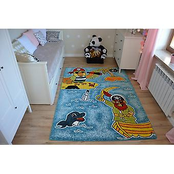 Rug KIDS Pirates blue C416