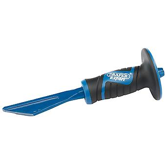 Draper 51055 Expert 250mm Plugging Chisel With Soft Grip Hand Guard