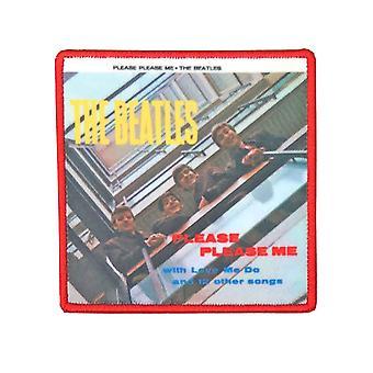 Beatles patch Please Me albumi kansi uusi virallinen kirjailtu Iron
