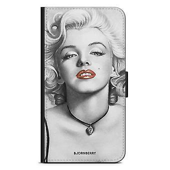 Bjornberry Wallet Case iPhone 7 - Marilyn Monroe