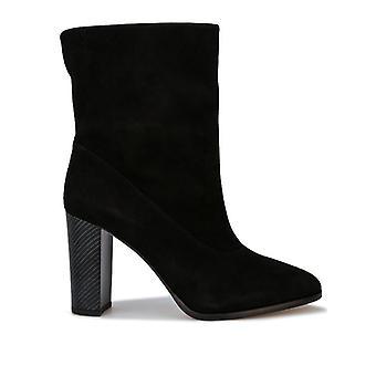 Women's Karen Millen Sappho Shore Suede Boots in Black