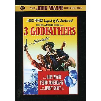 3 Godfathers [DVD] USA import