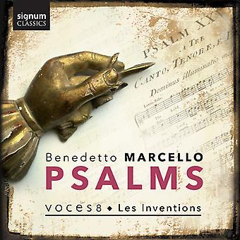 Marcello / Voces8 / Inventions - Psalms [CD] USA import