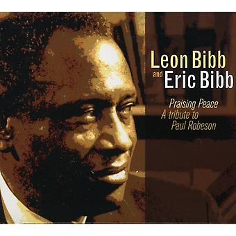 Eric Bibb & Leon - Praising Peace: Tribute to Paul Robeson [CD] USA import